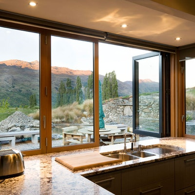 Kitchen featuring SmartWood Bi-fold window